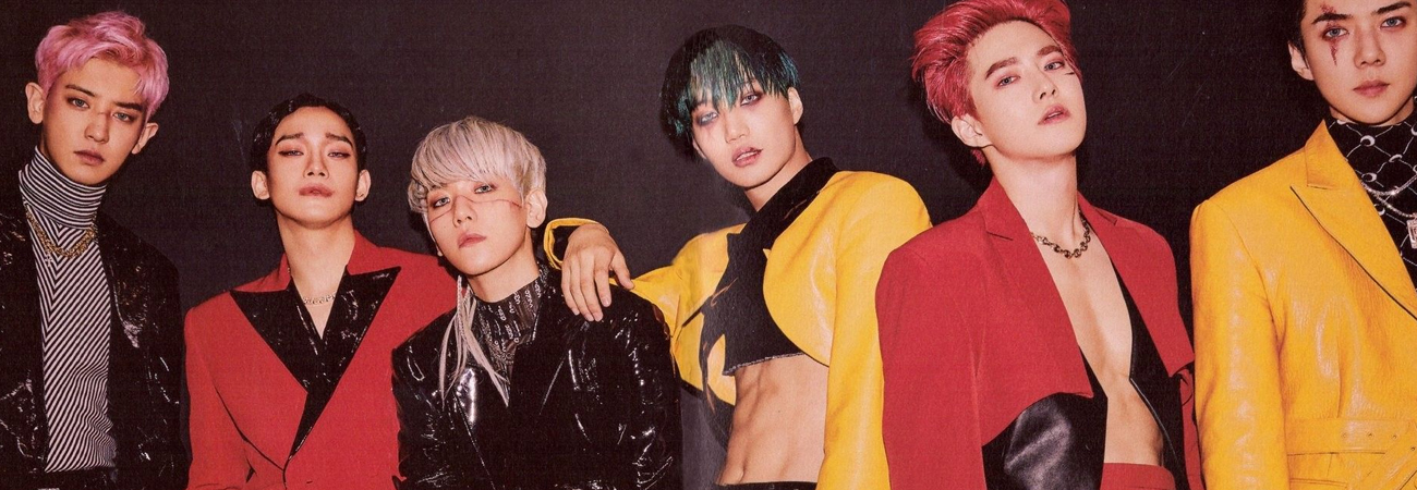 Obsession de EXO es el MV 11 del grupo en lograr los 100 millones de reproducciones