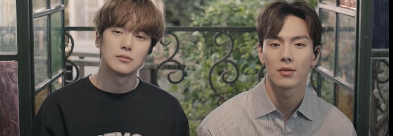 Minhyuk y Shownu de MONSTA X hablan de como fue el proceso de escribir su primer OST , Have a Goodnight