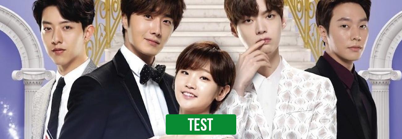 TEST: ¿Quién es tu alma gemela de Cinderella and Four Knights?