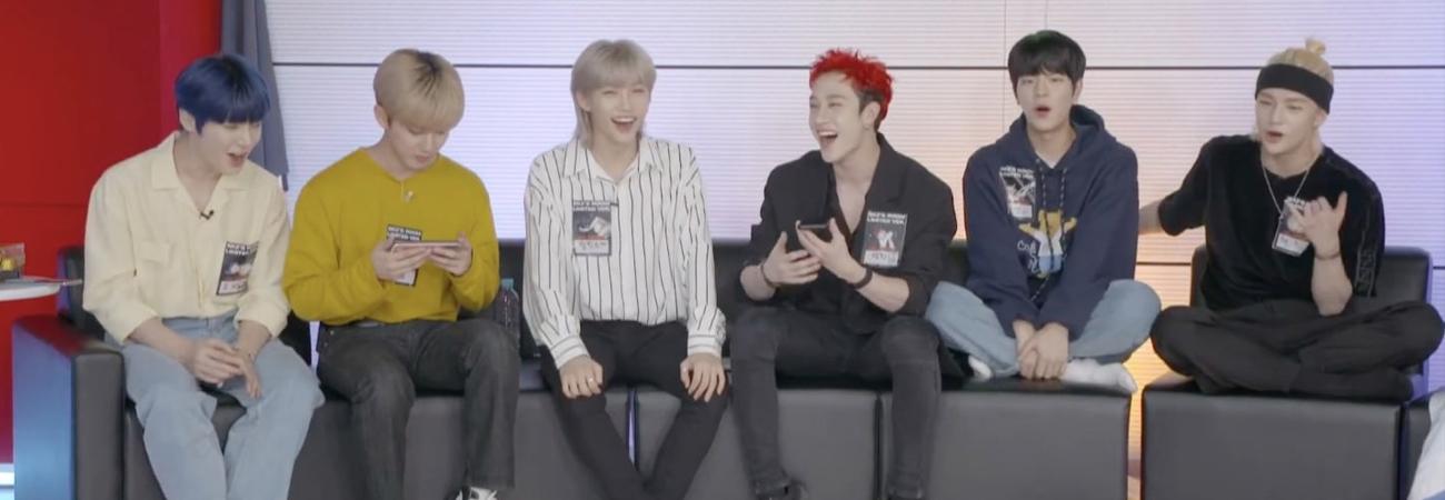 BamBam de GOT7 y Wonpil de DAY6 sorprenden a Stray Kids durante su transmisión en vivo