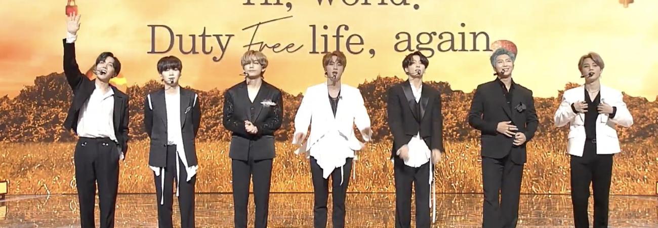 Revive la presentación de BTS en Lotte Duty Free concert