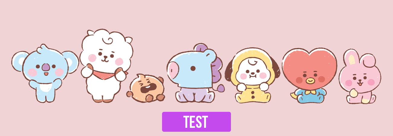 Test: ¿Qué personaje de BT21 eres?