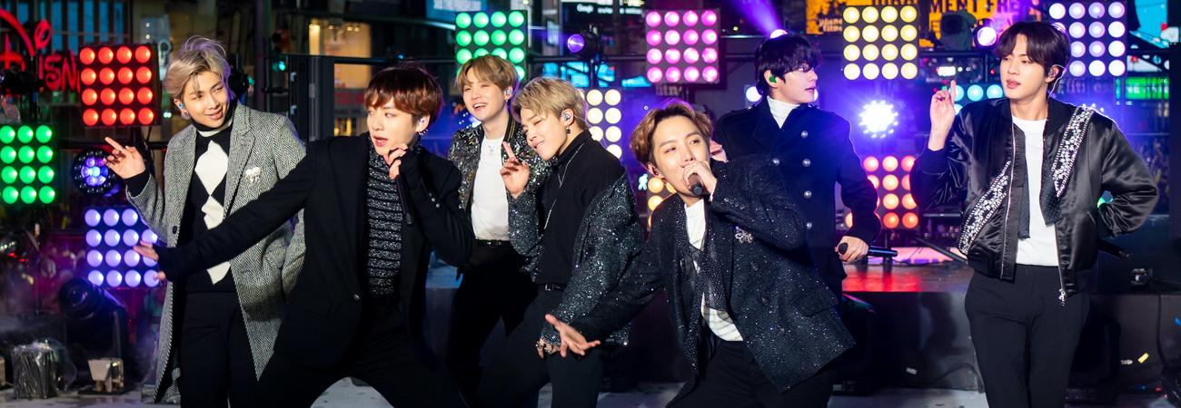 ¿Cuanto invirtió New Year Rocking Eve para traer a BTS?
