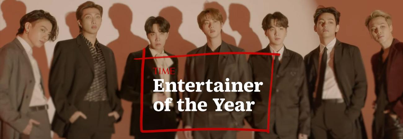 El Director General de la OMS felicito a BTS por ser nombrado artista del año por TIME