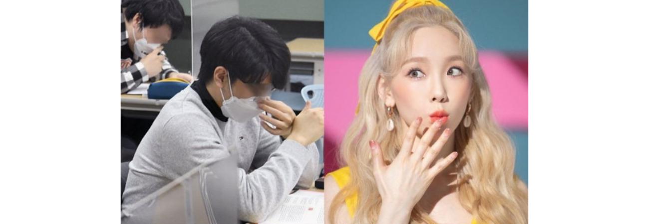 Estudiante revela que Taeyeon de SNSD 'lo salvó' durante el examen de ingreso a la universidad