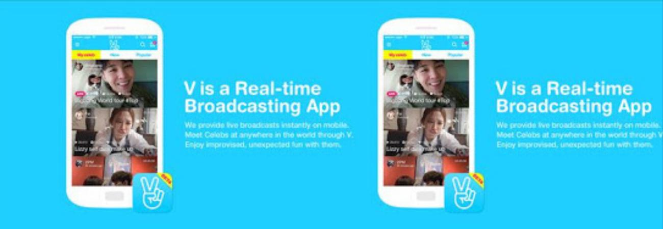 Naver V Live logra superar los 100 millones de descargas mundiales