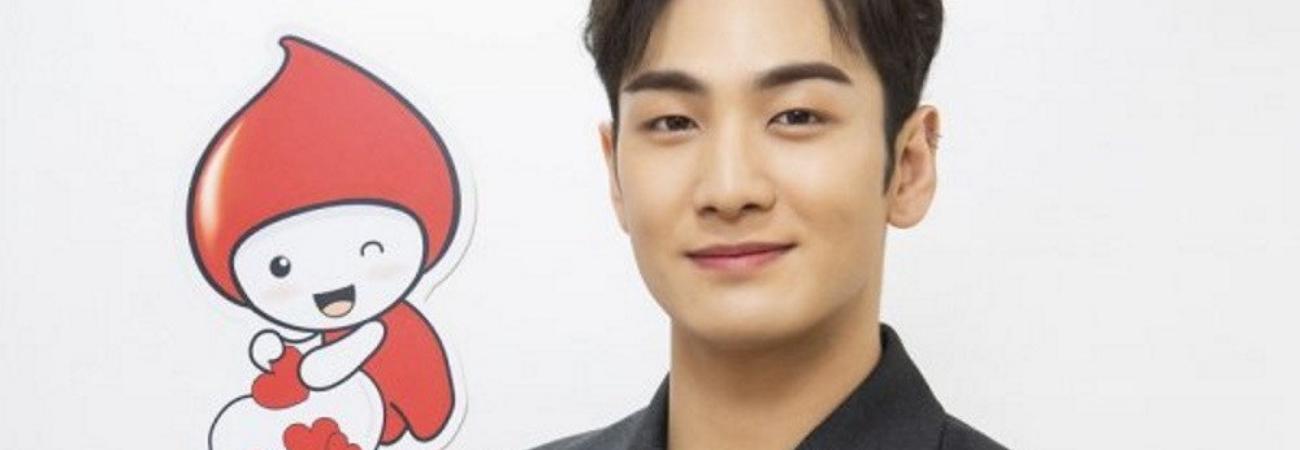 Baekho de NU'EST encabeza la campaña 'Baekho Blood Donation Day'