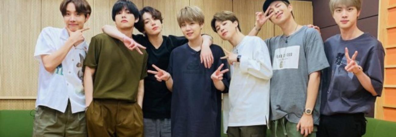 BTS revelan sus propósitos de año nuevo para 2021