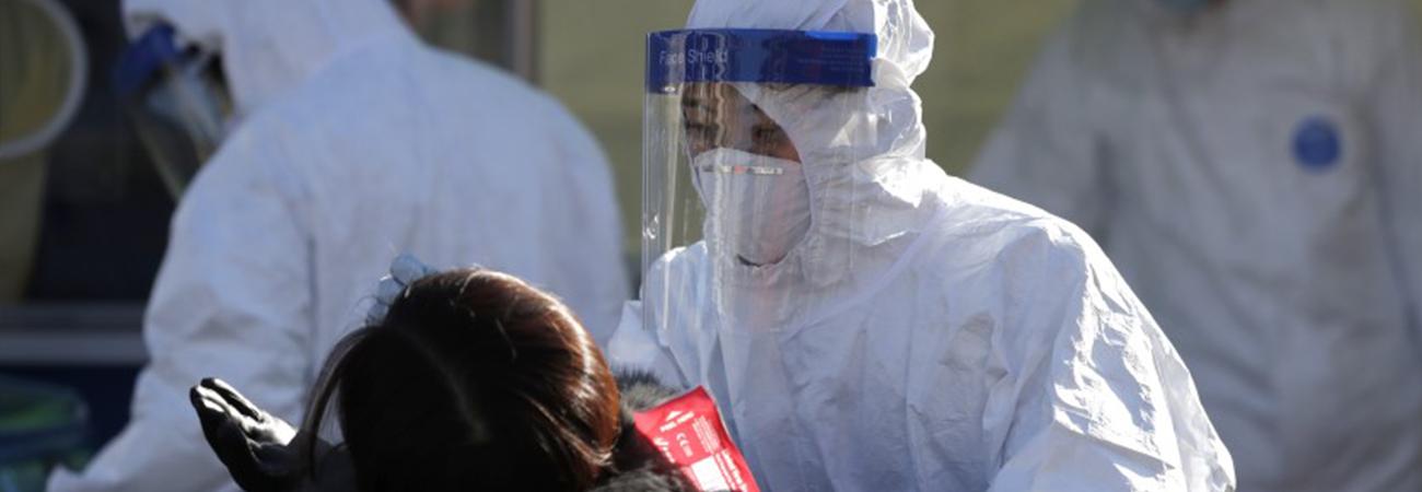 Sube a 1,078 casos diarios de COVID-19 en Corea del Sur