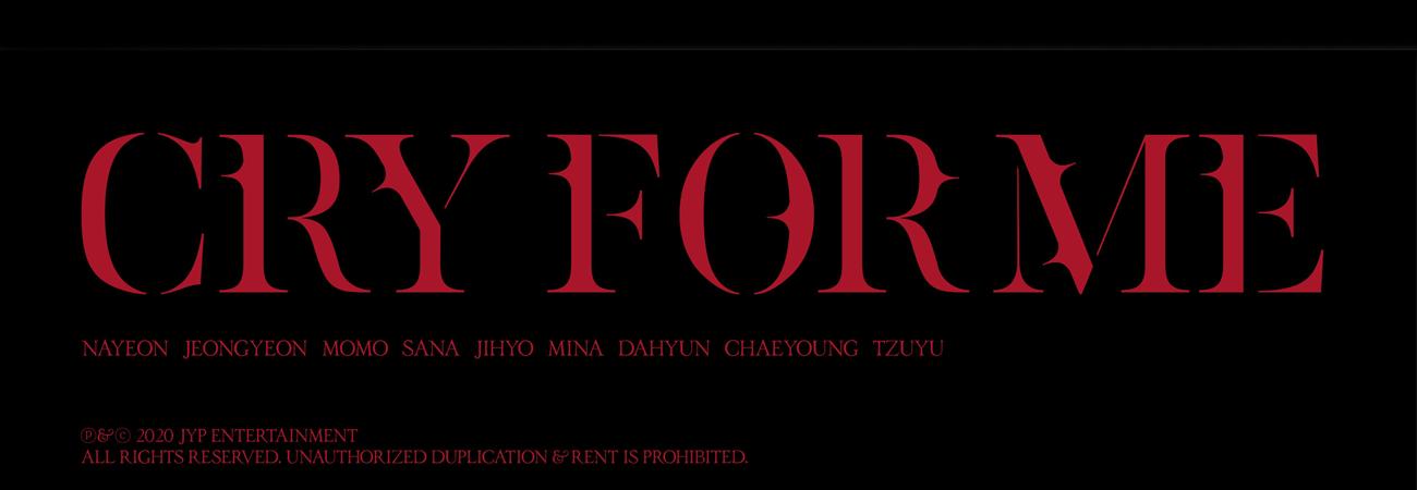 Liberan fecha para el lanzamiento de 'Cry For Me' de TWICE