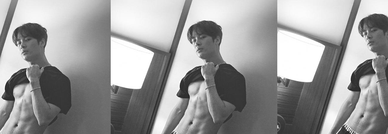 Isto é o que Jackson do GOT7 come para se manter em forma