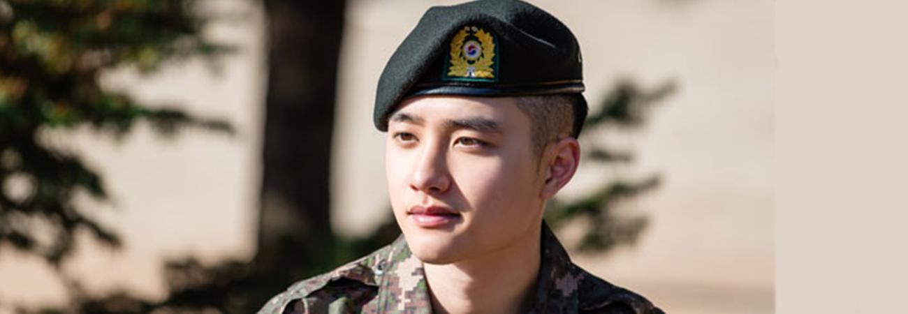 Quando o D.O. de EXO termina seu serviço militar?