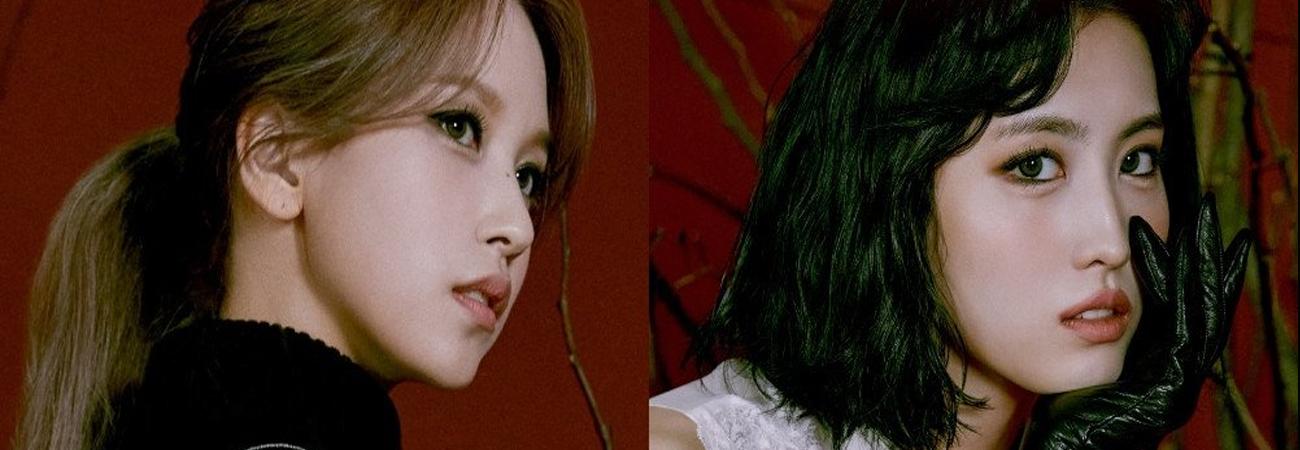 TWICE revela las fotos conceptuales de Momo y Mina para Cry For Me