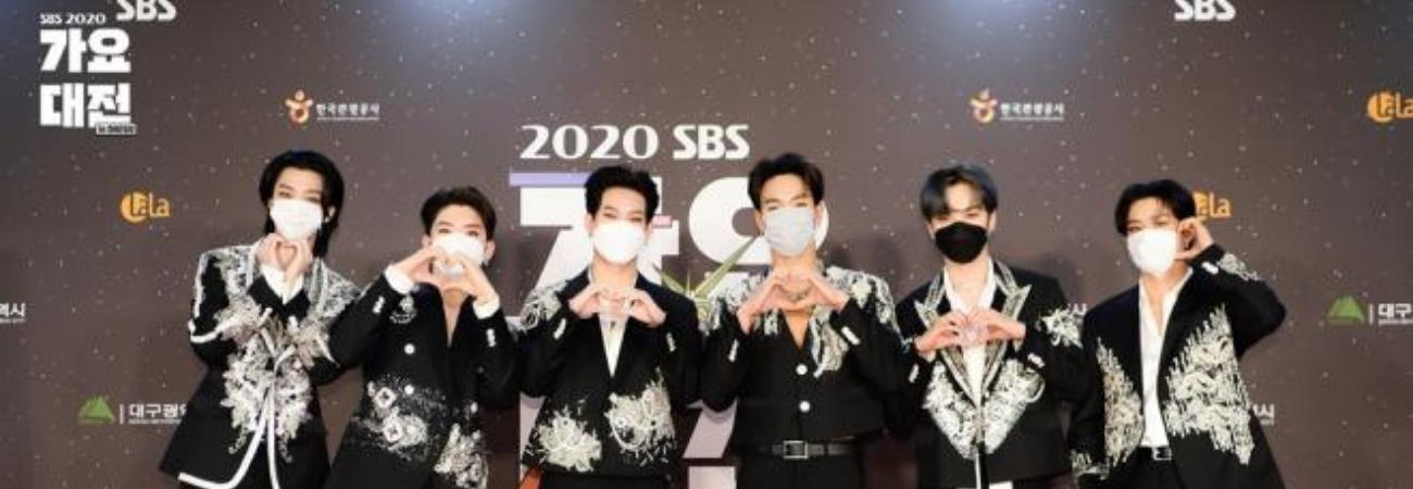 Monsta X y su espectacular actuación en Gayo Daejeon de SBS