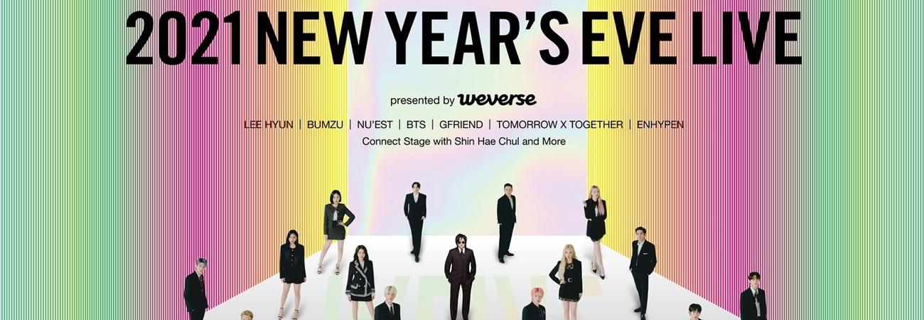 Big Hit Labels anuncia que unas actuaciones de 2021 NEW YEAR'S EVE LIVE' serán pregrabadas por COVID-19