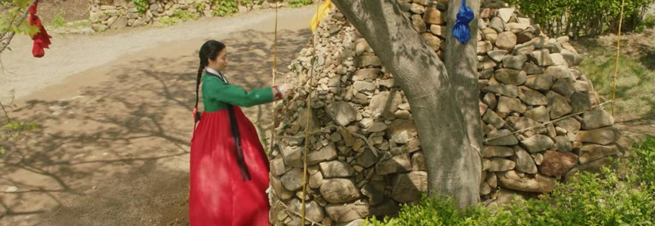 ¿Por qué los coreanos hacen montículos de piedras para rezar?