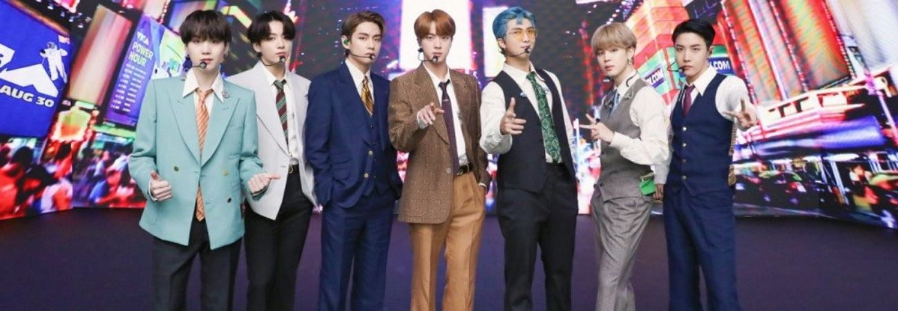 Representantes de empresas de entretenimiento eligen a BTS como el artista del 2020 + el mejor evento del año
