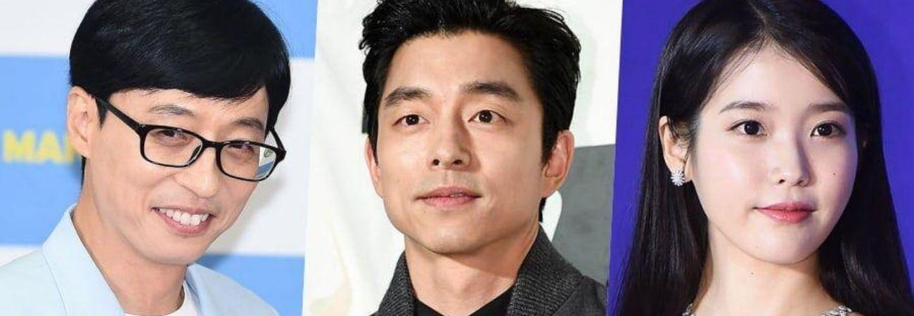 Yoo Jae Suk, Gong Yoo y IU entre las estrellas que los internautas quieren conocer en navidad