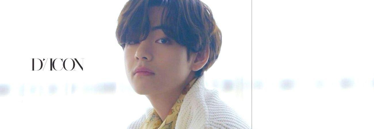 V de BTS supera a Jungkook en ventas internacionales de la revista Dicon