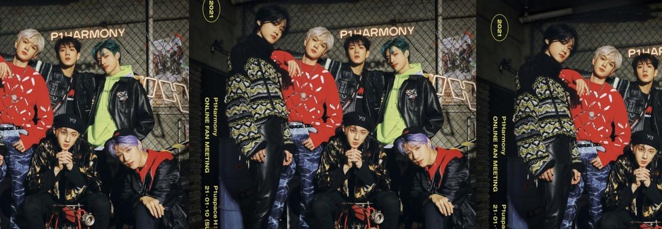 El grupo rookie de Kpop P1Harmony anuncia reunión de fans