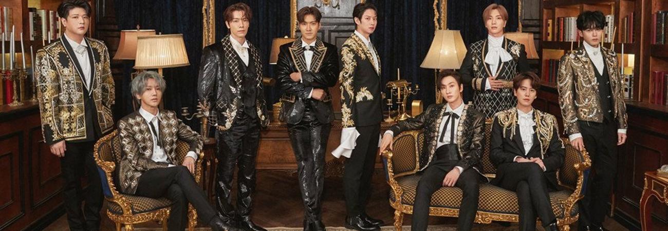 Super Junior revela el MV teaser de Burn the Floor