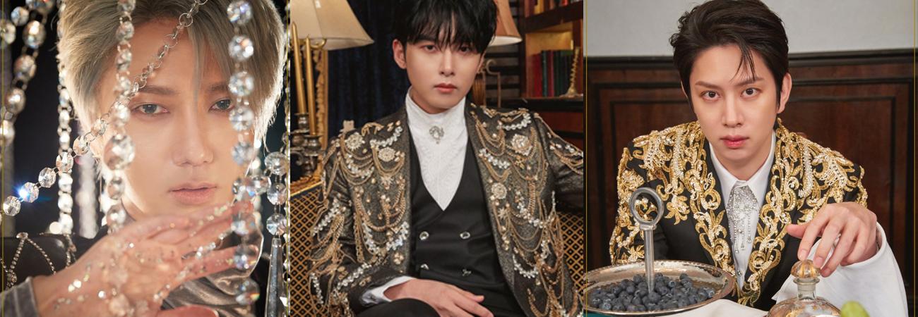 Super Junior revela las hermosas imágenes visuales de Yesung, Heechul, y Ryeowook