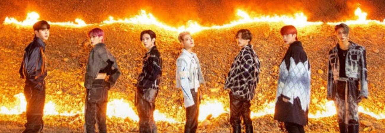 ATEEZ está en llamas en su nueva foto teaser para 'Zero: Fever Part. 2'