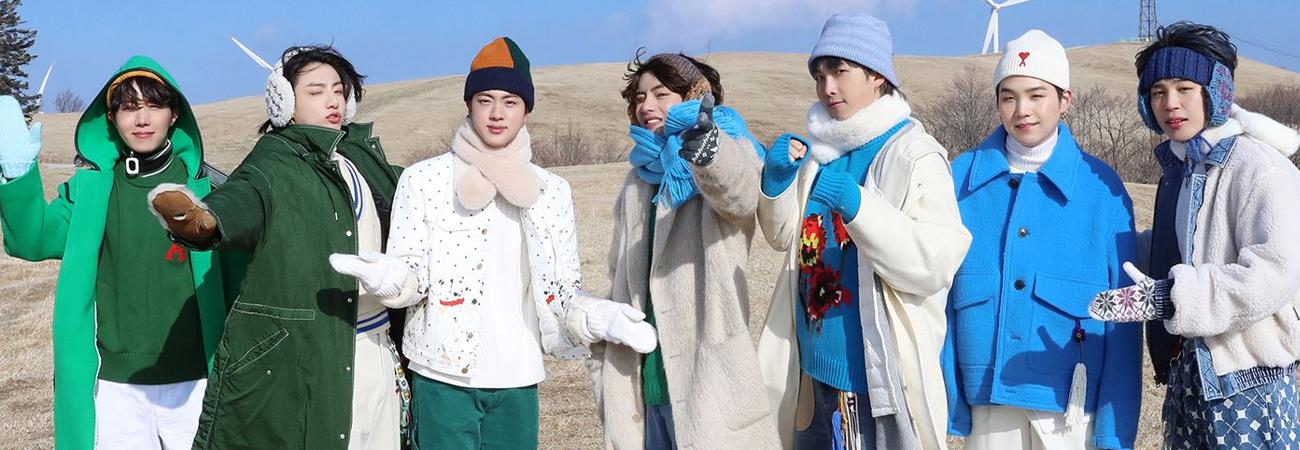 BTS cumple 7 años con su Fancafe Japonés