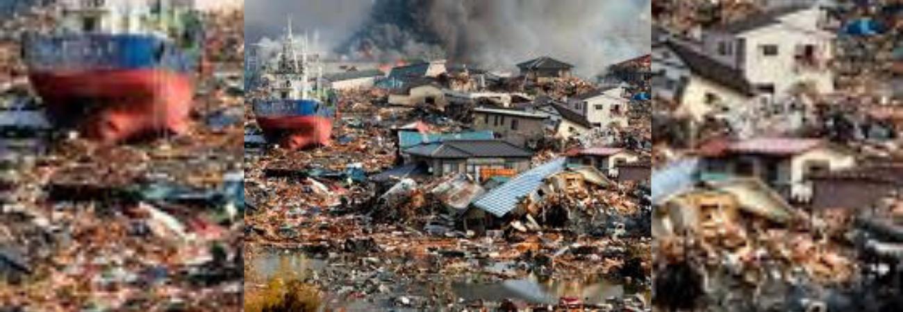 Japón sufre la fuerza de un temible terremoto