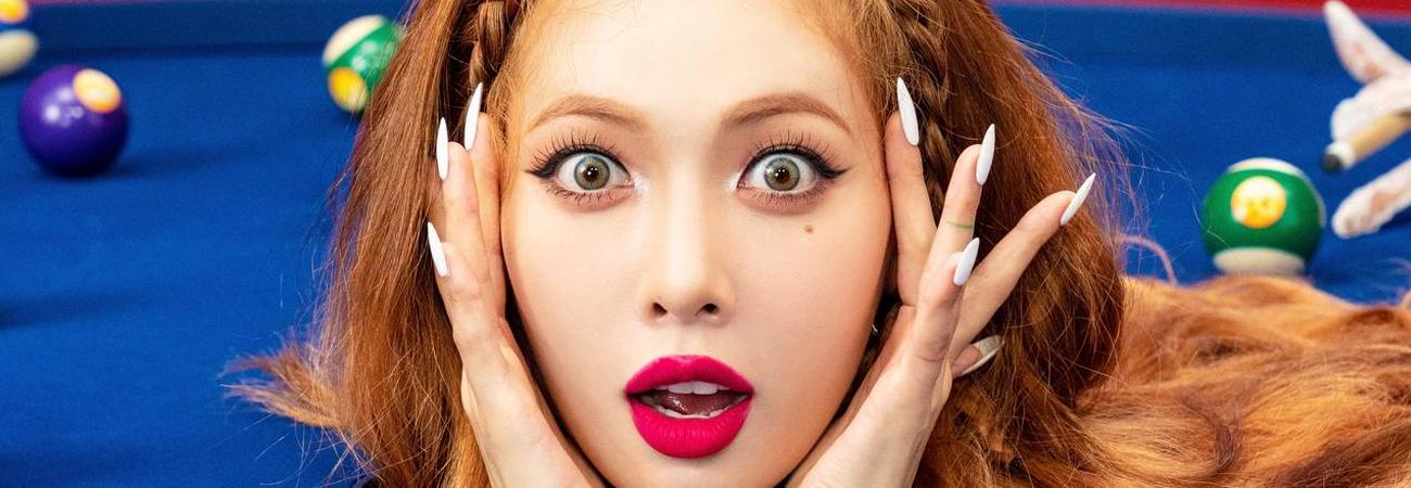 HyunA revela una curiosa imagen concepto para Good Girl
