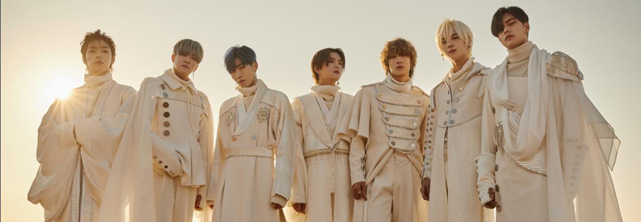 KINGDOM presenta su foto grupal con el hermoso concepto Solar