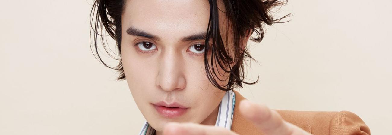 I-Magazine elige a Lee Dong Wook como 'Mejor rostro de moda 2020'
