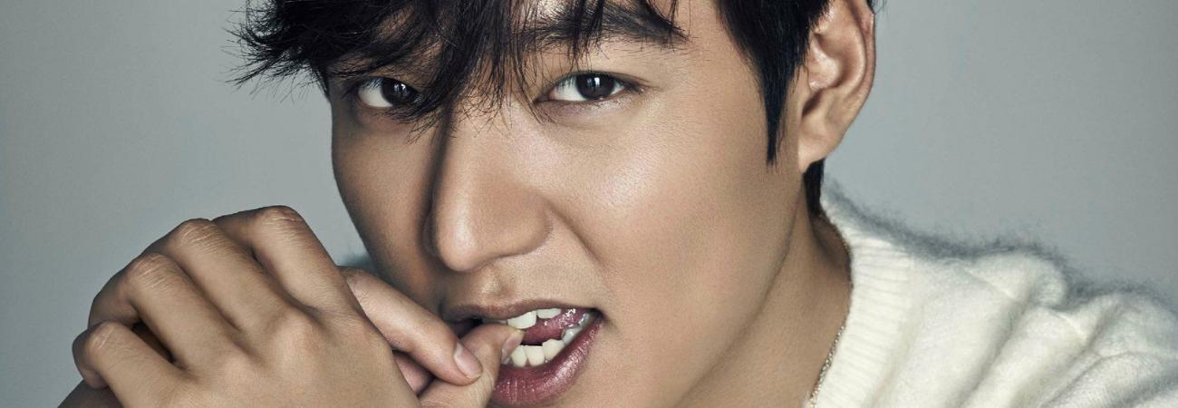 Lee Min Ho hace una candente revelación de lo que usa cuando se va a dormir