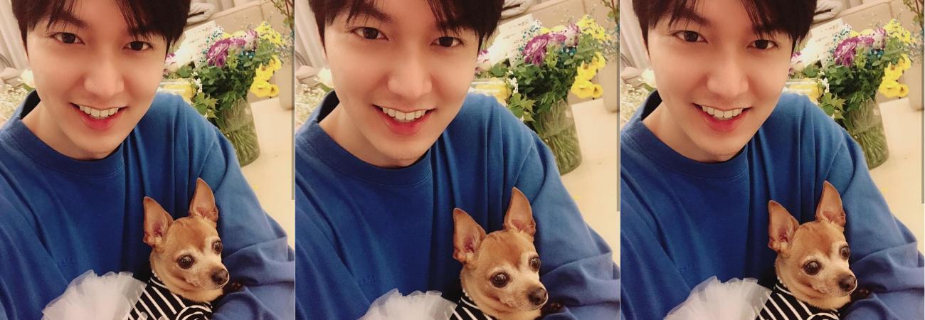 Choco, el perro de Lee Min Ho causa envidia en las redes sociales