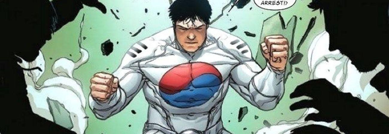 Marvel Comics presenta al nuevo superhéroe surcoreano 'Taegukgi'