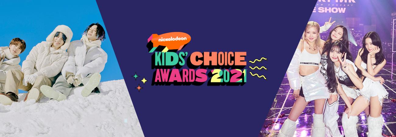Vote em BTS e Blackpink no 2021 Kids Choice Awards