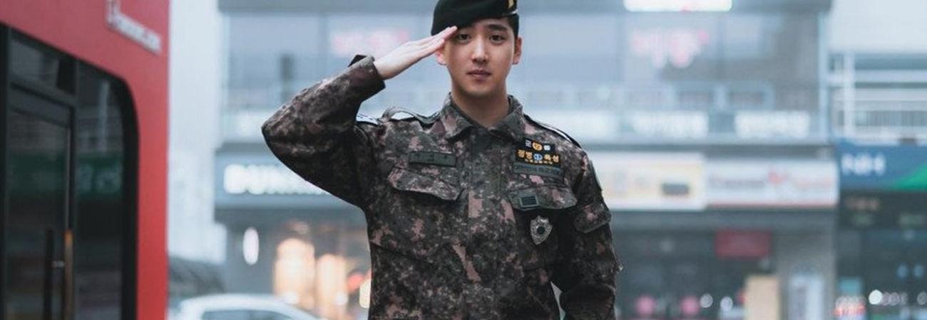 ¡Baro de B1A4 le dan su alta militar!