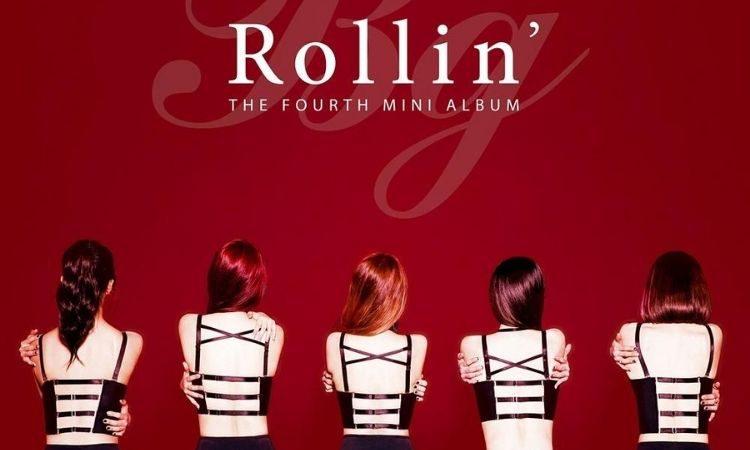 Portada del álbum Rollin' de Brave Girls