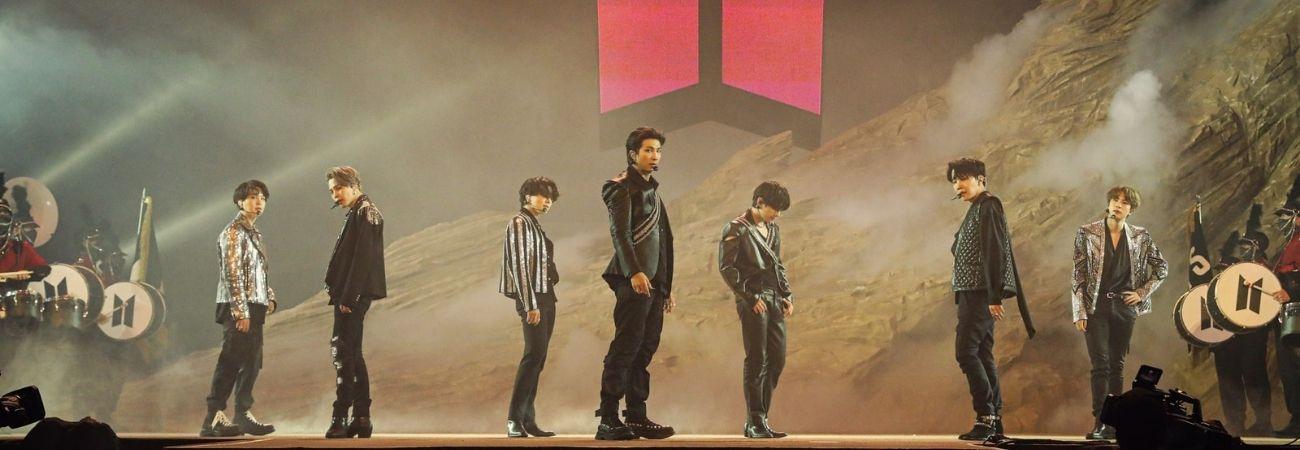 'Map of the Soul ON:E' de BTS fue el concierto en línea con mayor recaudación en 2020