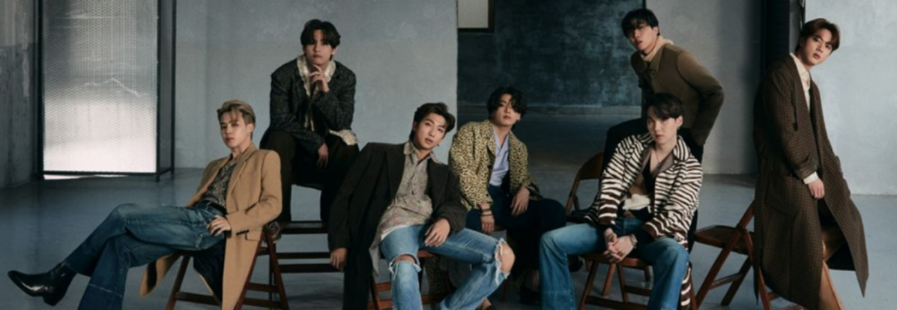 Miembros de BTS son los 'Reyes del Estilo' según la revista Esquire