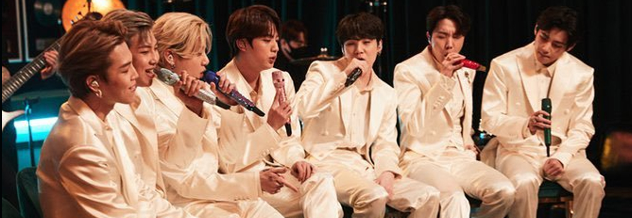 BTS revela un adelanto de su presentación en los MTV Unplugged Presents