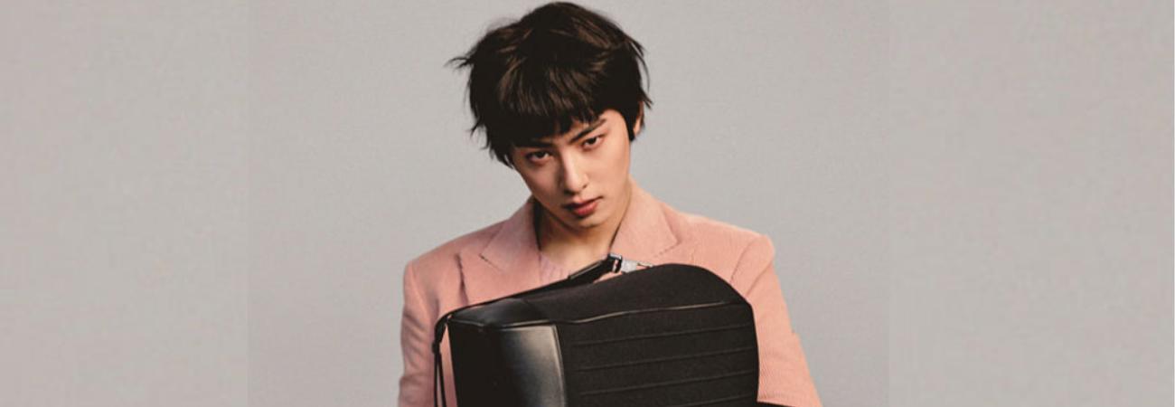 Cha Eun Woo de ASTRO se hace viral por su drástico cambio de look para GQ Korea