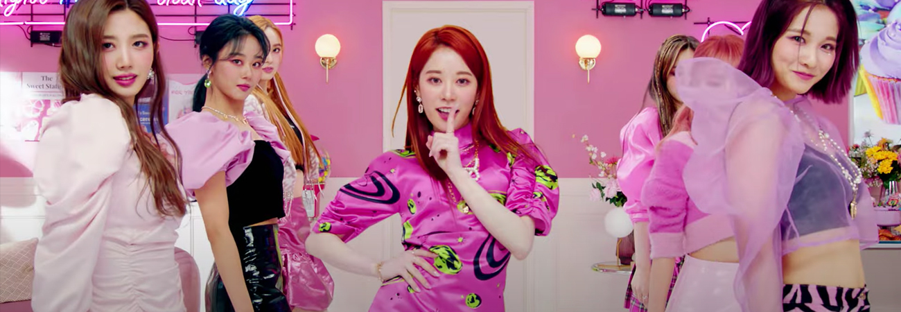 Cherry Bullet presenta su MV performance para Love So Sweet'