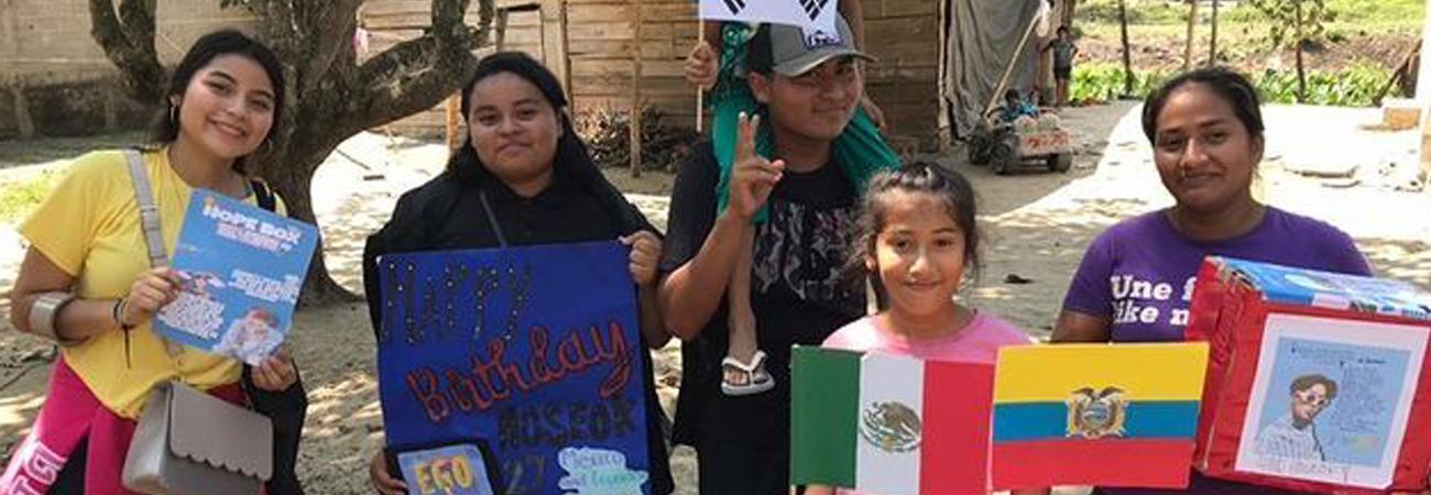 BTS: ARMY mexicana dona personas de pocos recursos por cumpleaños de Jhope