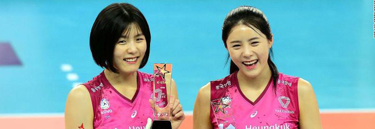 Jogadores de vôlei que explodiram o bullying 'Me Too' na Coréia