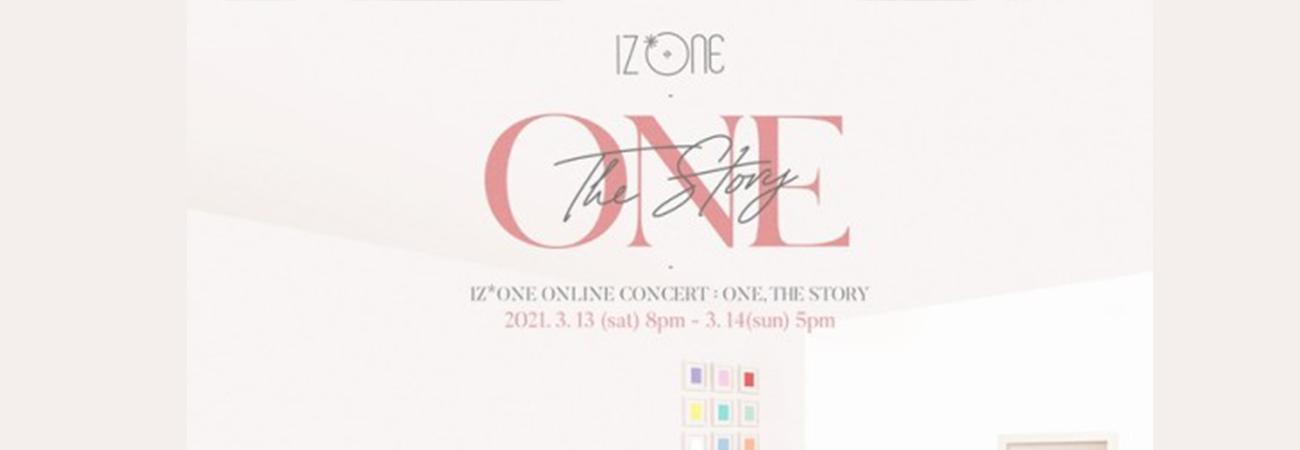 IZ*ONE anuncia concierto online de dos días