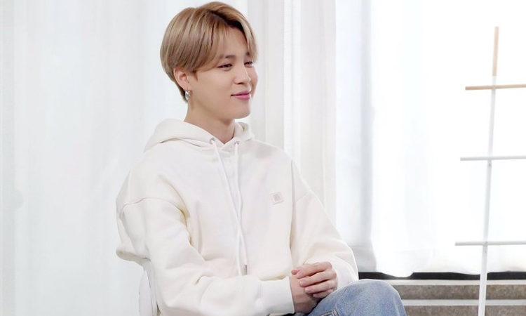 Jimin de BTS mantiene los pies en la tierra durante la entrevista de BE-hind Story de BTS
