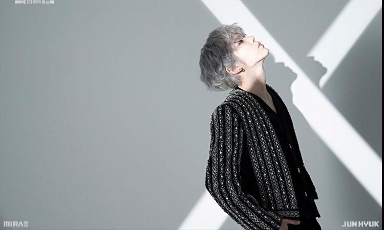 Jun Hyuk de MIRAE nos conquista con su foto concepto de KILLA