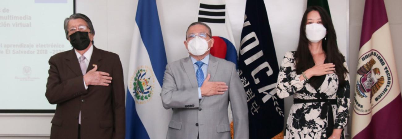 KOICA de El Salvador realiza la inauguración de laboratorios especializados para mejorar la educación