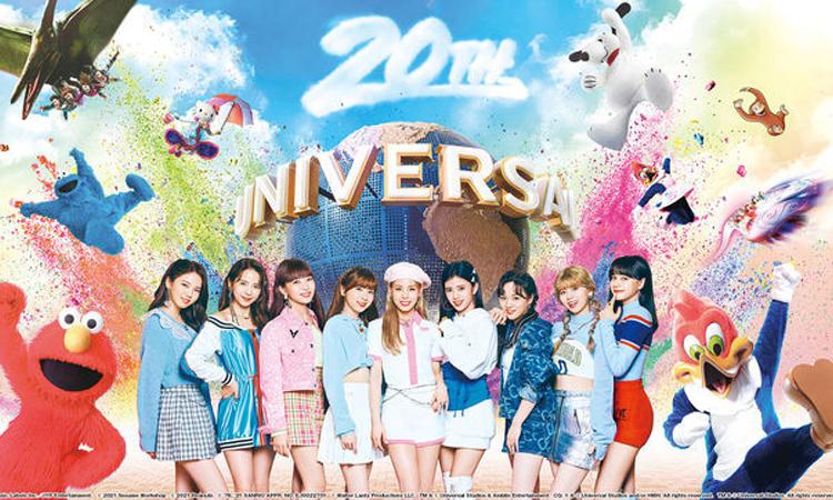 NiziU se vuelve en la voz del parque Universal Studios en Japón